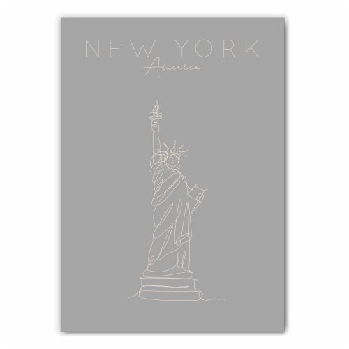 New York Statue of Liberty Print