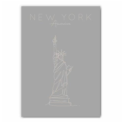 New York Statue of Liberty Print