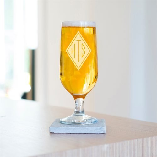 Personalised Initials Craft Beer Glass