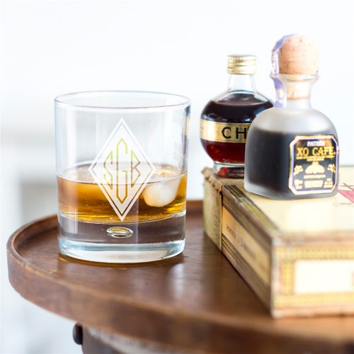 Personalised Initials Whisky Tumbler