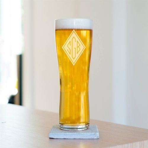 Personalised Initials Pint Glass