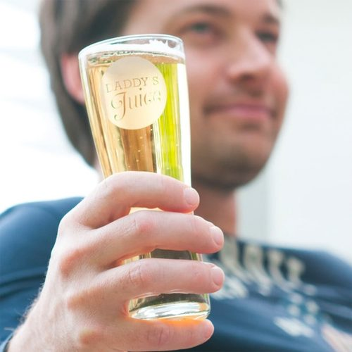 Daddys Juice Pint Glass