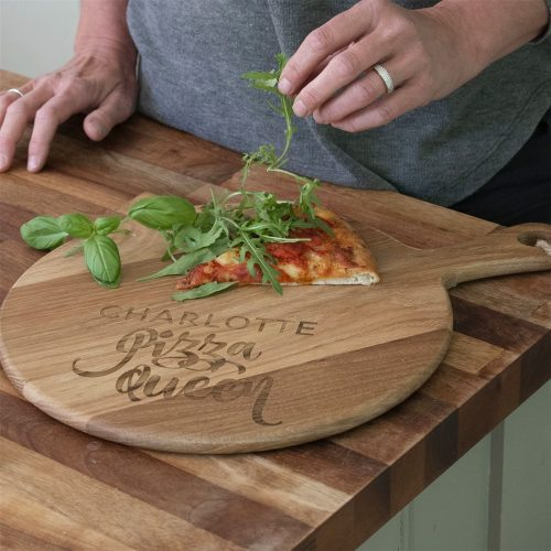 Personalised Pizza Queen Pizza Board