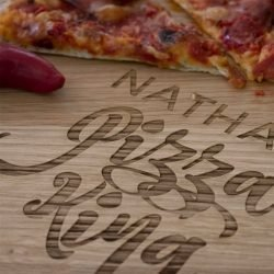 Personalised Pizza King Pizza Board