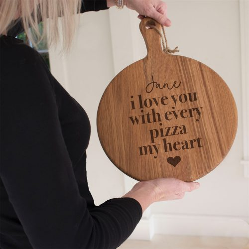 Personalised Every Pizza My Heart Board