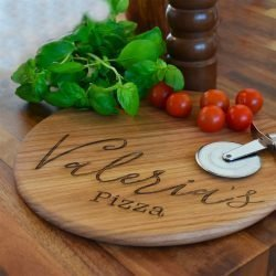 Personalised Name Pizza Board