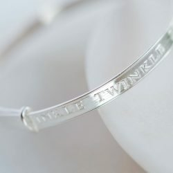Twinkle Twinkle Little Star Baby Bangle