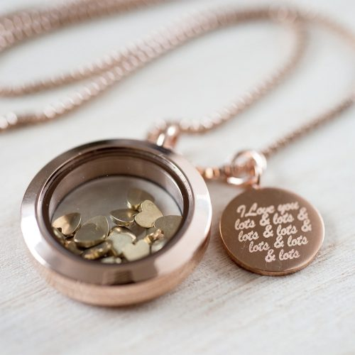 I Love You Lots Necklace Pendant