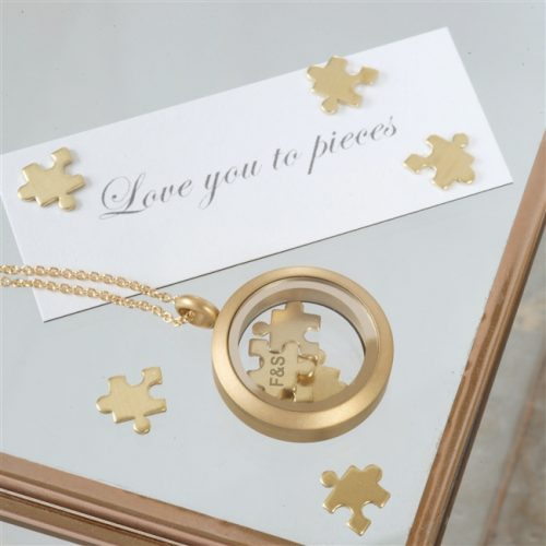 Personalised Love You To Pieces Necklace with Gift Box