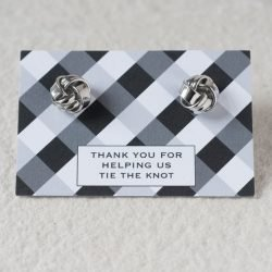 Tying The Knot Thank You Cufflinks