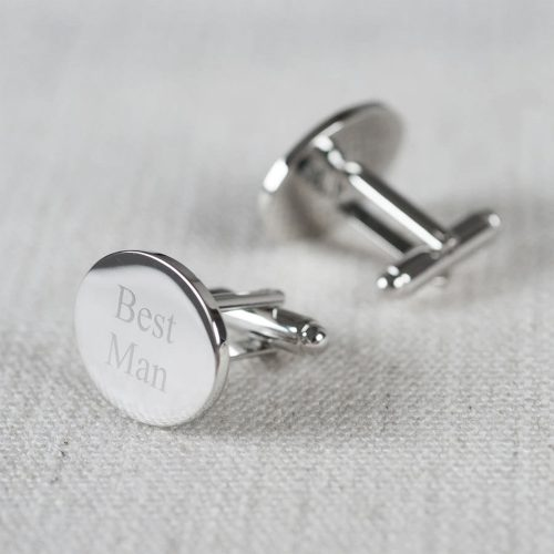 Best Man Wedding Cufflinks