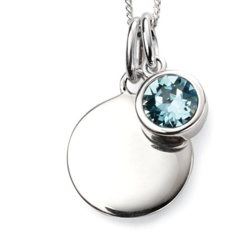 Personalised Birthstone Necklace with Gift Box