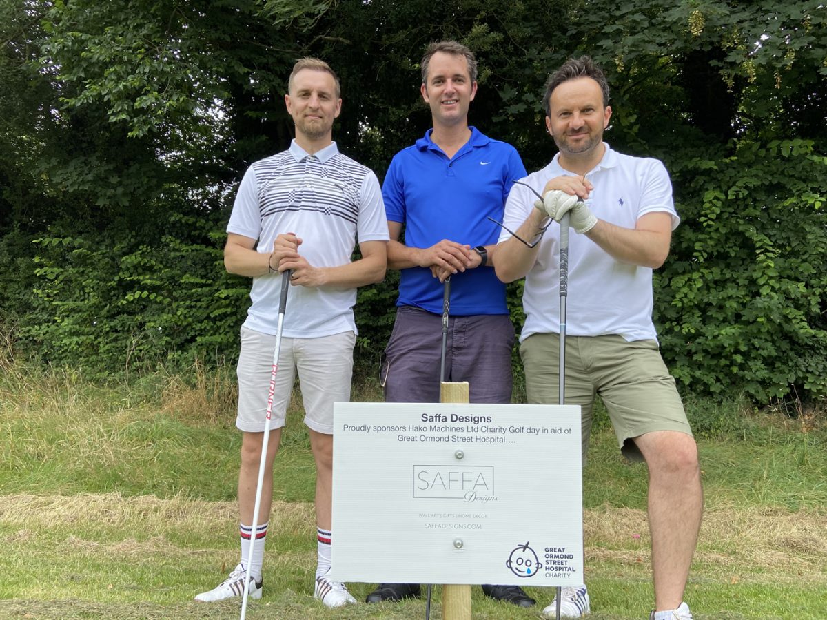 Saffa Designs Play Golf For GOSH