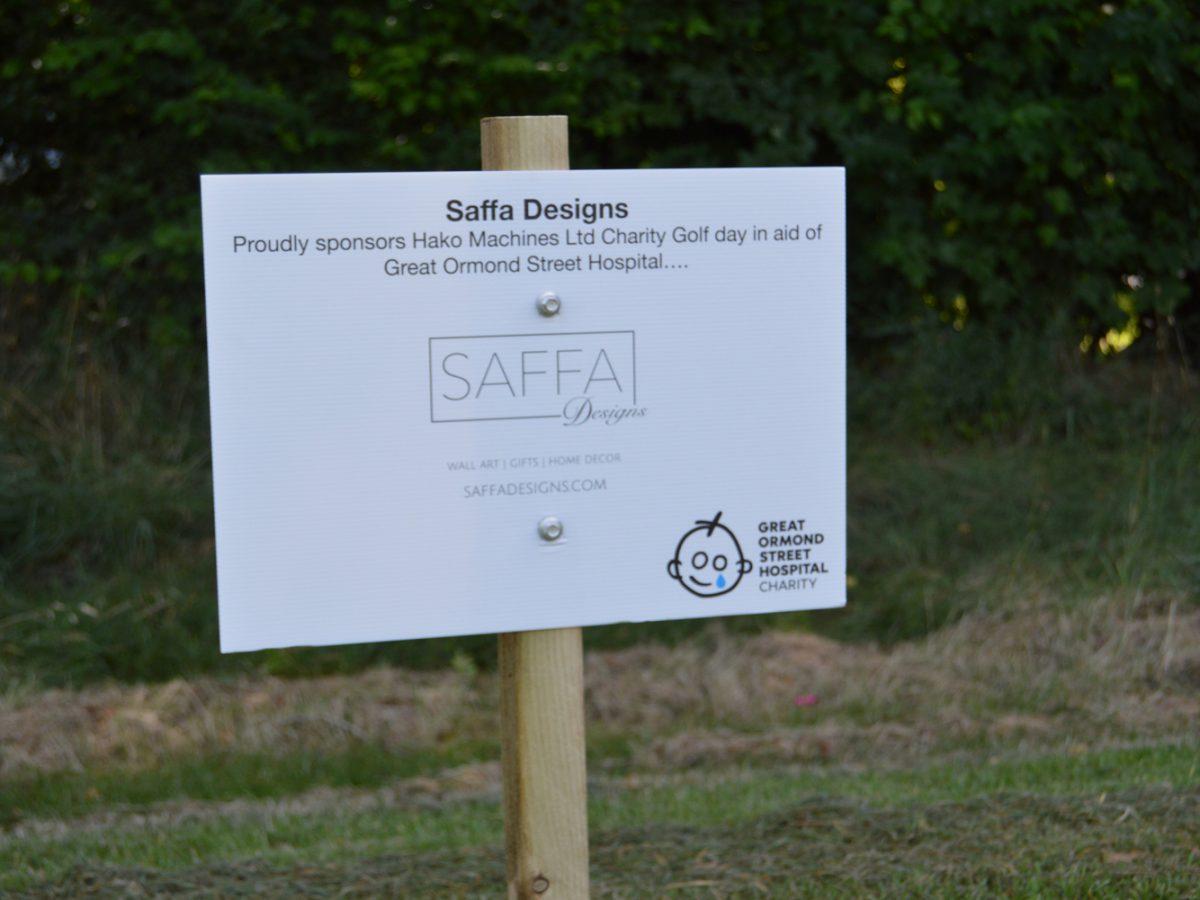 Saffa Designs Sponsorship Board
